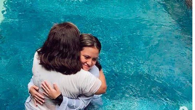 Dibaptis, Marsha Aruan Tegaskan Tak Pindah Agama