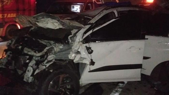 Minibus Kecelakaan di Tol Cipali