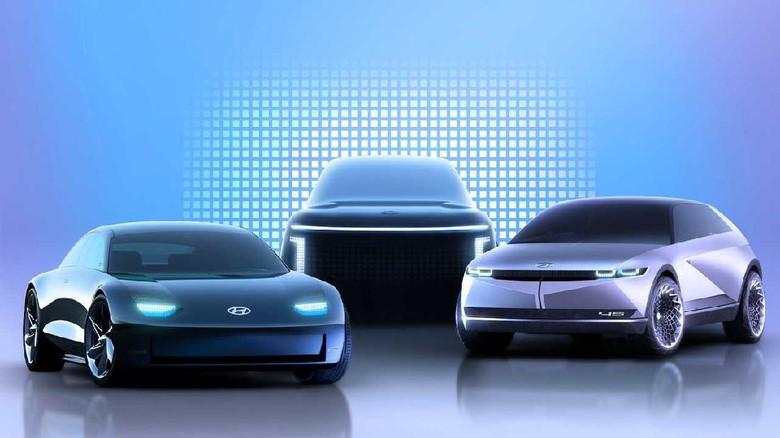 Mobil listrik konsep Ioniq