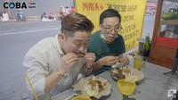 Pertama Kali Cicip Nasi Bebek Madura, Begini Tanggapan Orang Korea