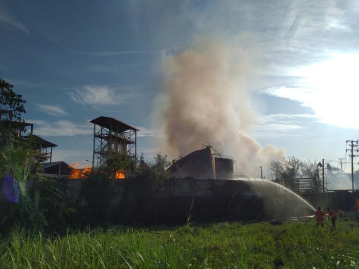 Pabrik Bioetanol di Mojokerto Meledak,