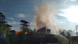 Pabrik Bioetanol di Mojokerto Meledak, Warga Semburat