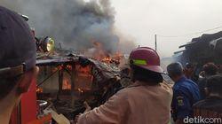 Pasar Ciranjang Cianjur Kebakaran