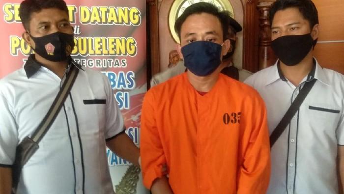 Pelaku penipuan dan pencabulan berkedok dukun di Buleleng, Bali.