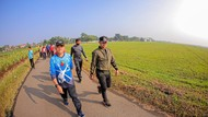 Walkot Bogor Jajal Hiking, Jogging dan Flying di Lanud ATS