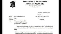 Pro Kontra Ketua RT di Surabaya soal Imbauan Tak Gelar Lomba HUT RI