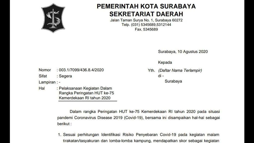 Dewan Kesenian Surabaya Singgung soal Nasionalisme Saat Tak Boleh Lomba HUT RI