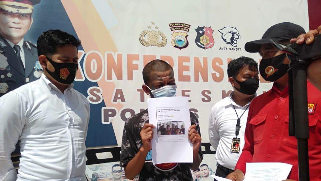 Posting Polisi Pun Saya Makan, Pengamen di Gowa Sulsel Ditangkap