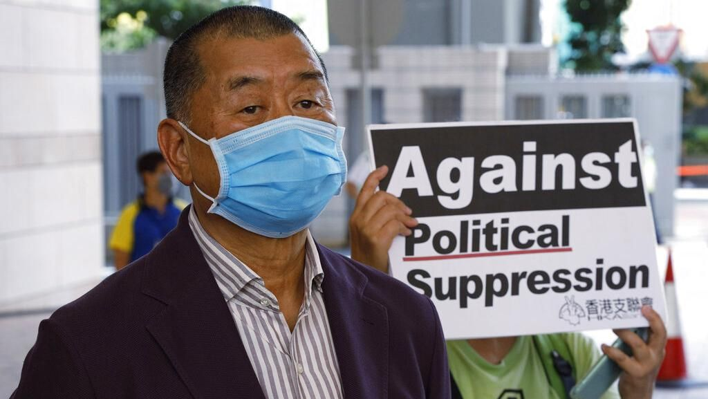 Konglomerat Hong Kong Jimmy Lai Menanti Vonis karena Ikut Aksi Demo