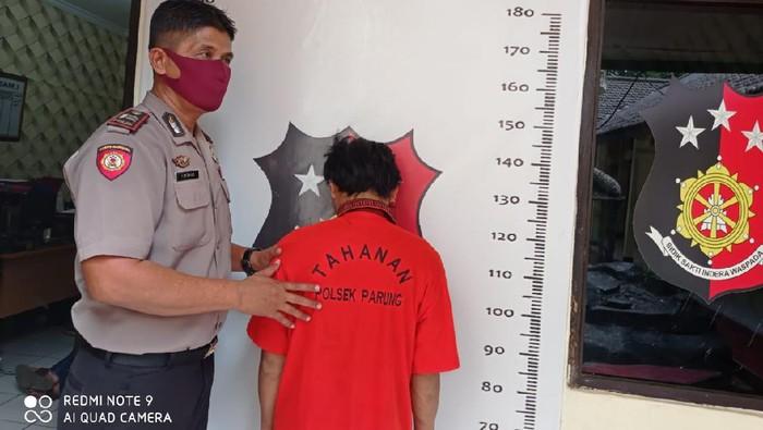 Perampok minimarket di Parung, Bogor berhasil ditangkap.