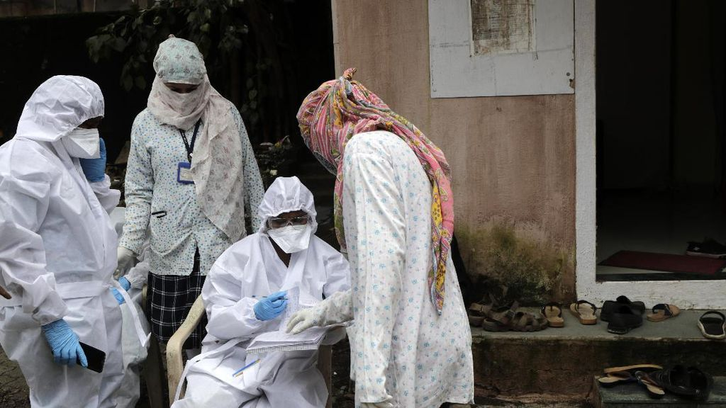India Laporkan 62 Ribu Kasus Corona Sehari dan 1.000 Kematian