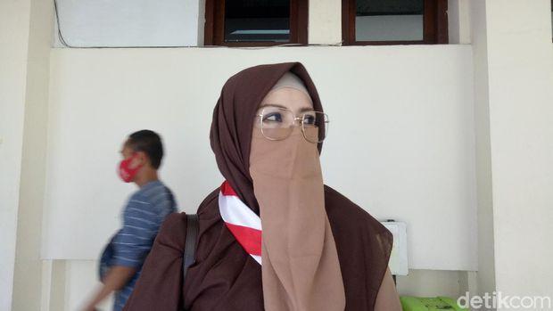 Plt Kepala Dinas Pendidikan Kota Makassar, Amalia Malik (Ibnu Munsir-detikcom).
