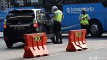 493 Kendaraan Ditilang di Hari Pertama Pemberlakuan Kembali Ganjil-Genap