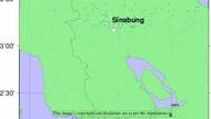 Simulasi BMKG: Abu Vulkanik Sinabung Capai Bandara Kualanamu Malam Ini