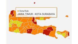 Tak Lagi Merah, Surabaya Kini Jadi Zona Oranye
