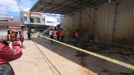 Tabung Salju Tempat Cuci Mobil di Samarinda Meledak, Satu Orang Tewas