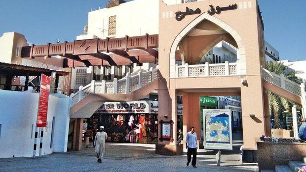 Transit di Muscat