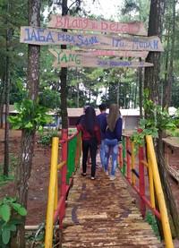 Wana Wisata Pokland di Cianjur memang jadi pelopor dan inspirasi bagi wana wisata perhutani lain. (Ismet Selamet/detikcom)
