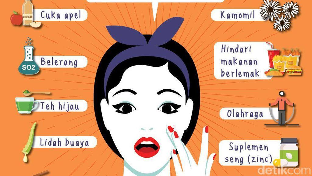 10 Tips Muka Kinclong Bebas Jerawat