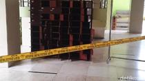 Lokasi Ditemukannya Tas Mencurigakan di Masjid UNY Digaris Polisi