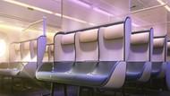 Begini Rencana Desain Kabin Pesawat Pasca Pandemi