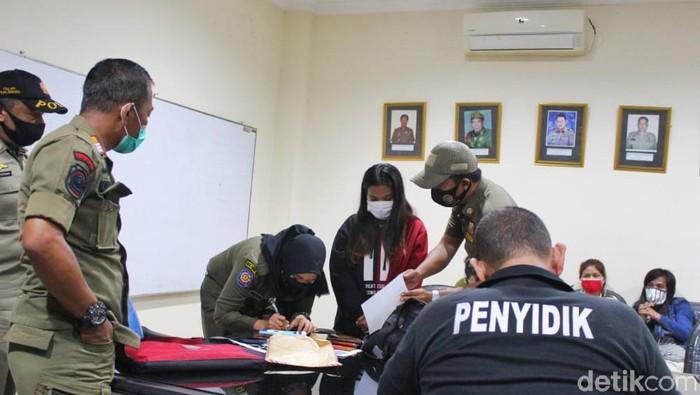 Belasan wanita malam terjaring razia Satpol PP Bogor