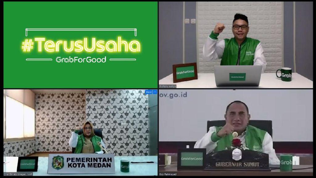 Hasil Riset: Grab Buat Pendapatan Ojol di Medan Naik hingga 114%