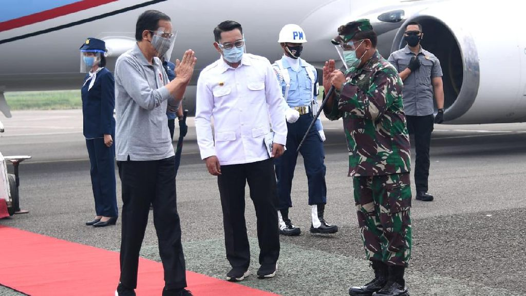 Puja-puji Ridwan Kamil kepada Jokowi
