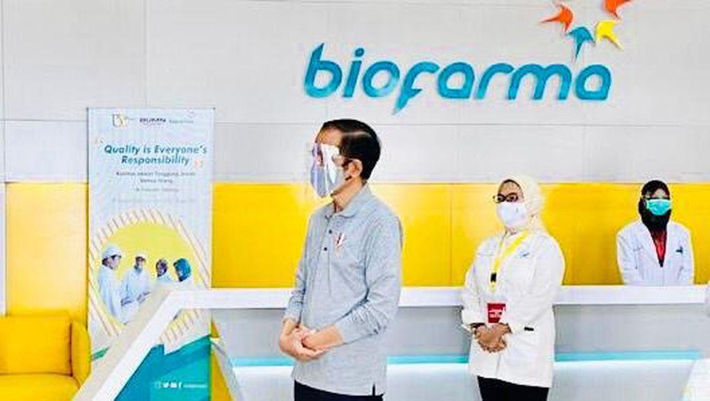 Target Jokowi: Vaksin Corona Merah Putih Buatan RI Rampung Pertengahan 2021