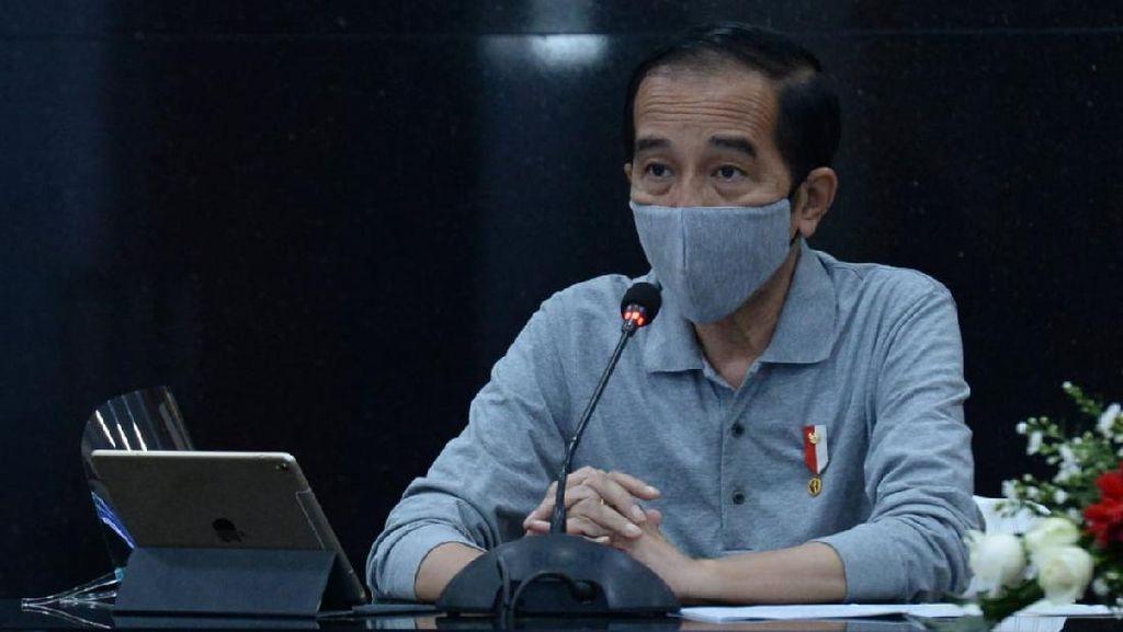 Sentilan Jokowi untuk Provinsi yang 70% Warganya Tak Bermasker