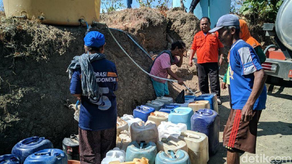 Sumber Air Mengering, Tiga Desa di Ponorogo Minta Dropping Air Bersih