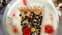 Nyamm! Kue Jelly Cantik Ini Berisi Milk Tea Plus Boba