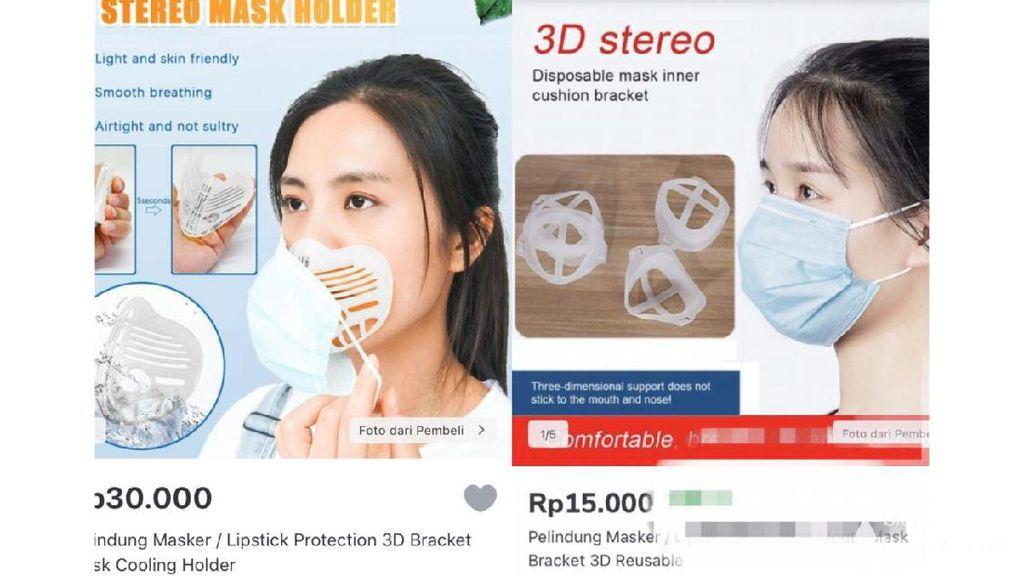 Bracket Masker Hits di Lapak Online, Katanya Biar Tak Merusak Lipstik
