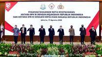 BPK-Polri-Kejagung Perpanjang MoU Terkait Pencegahan Korupsi