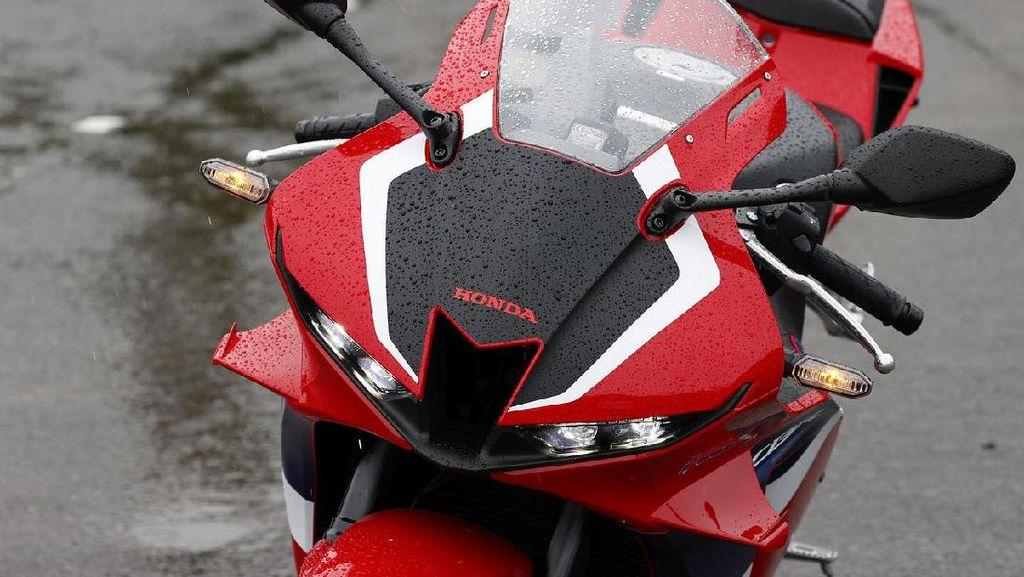 Penampakan Nyata Honda CBR600RR Terbaru, Sporty Banget!