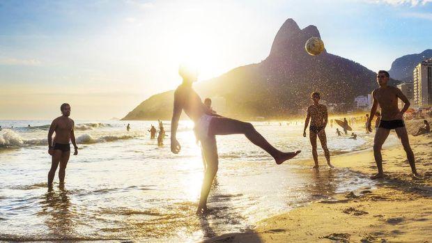 Pantai Copacabana di Rio de Janeiro