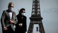 Suhu Panas, Paris Wajibkan Pakai Masker di Tempat Wisata