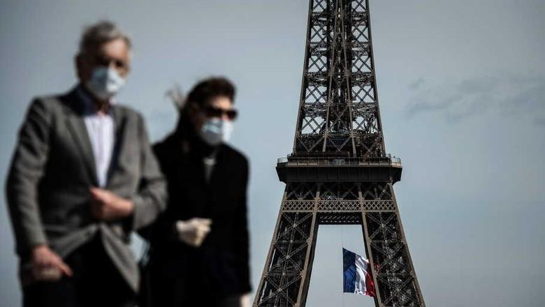 Paris wajibkan penggunaan masker