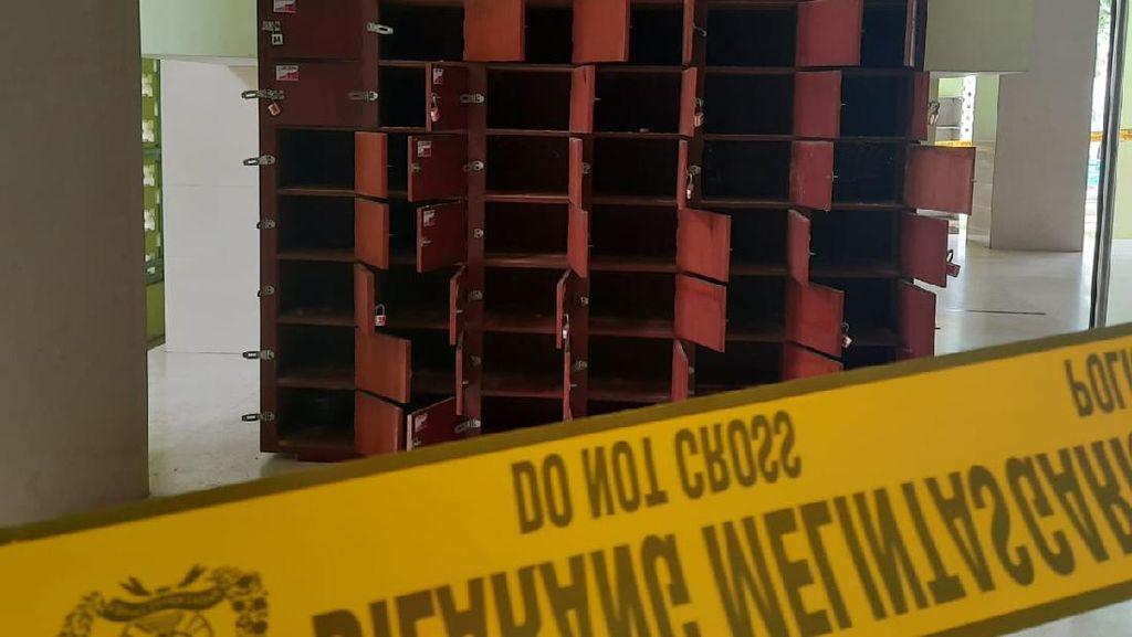 Ada Temuan Tas Mencurigakan Berisi Ancaman, Masjid UNY Digaris Polisi