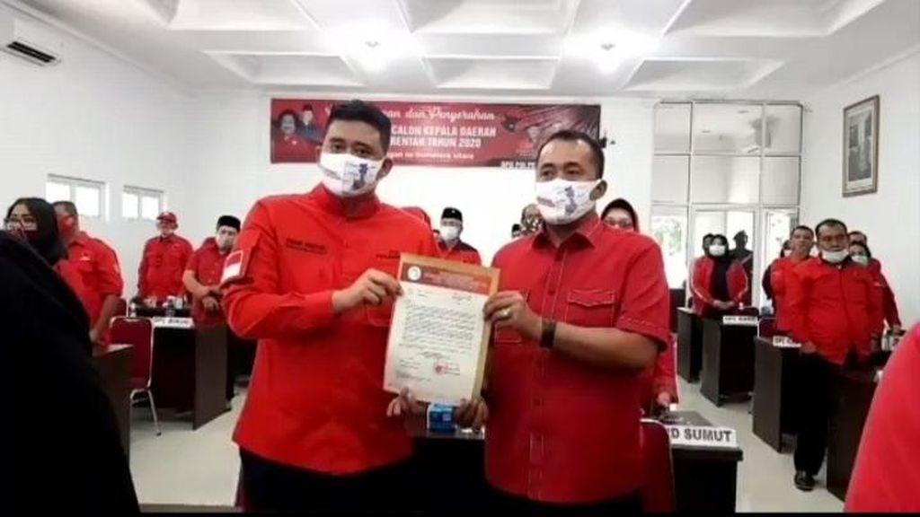 PDIP Resmi Usung Mantu Jokowi dan Ponakan Prabowo di Pilkada Medan-Tangsel