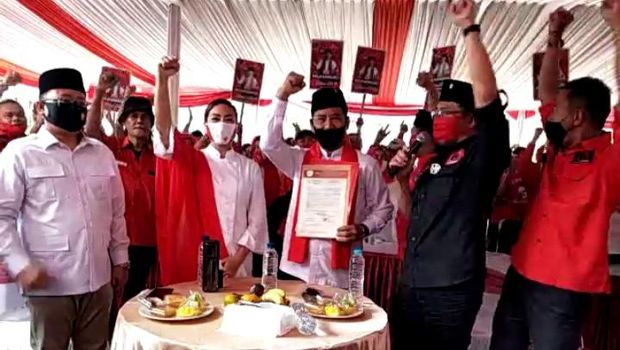 Pengumuman rekomendasi PDIP untuk Pilkada Medan dan Pilkada Tangsel
