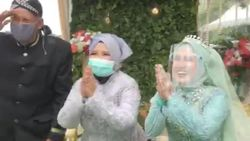 Viral Pengantin Bekasi Gelar Pernikahan Drive Thru, Didatangi Wakil Walikota