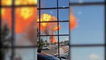 Pom Bensin Terbakar di Rusia, Pemadaman Gunakan Robot