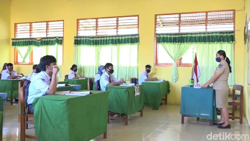 Sejumlah Sekolah di Toraja Utara Belajar Tatap Muka, Begini Suasananya