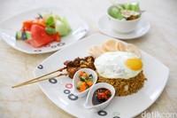 Salah satu menu sarapan diThe Trans Resort Bali.