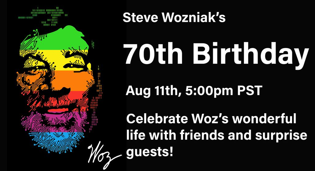 Ulang Tahun Steve Wozniak