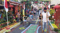 Di Surabaya, Ada Kampung Wuhan Ikut Peringati HUT ke-75 RI