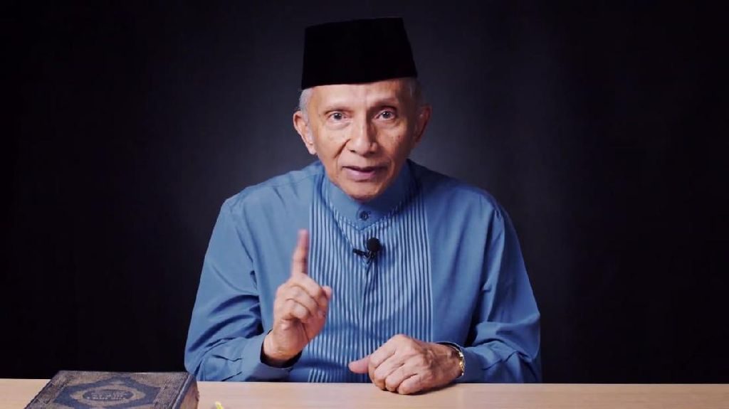 Amien Rais Sampaikan Risalah Kebangsaan, Lagi-lagi Kritik Jokowi