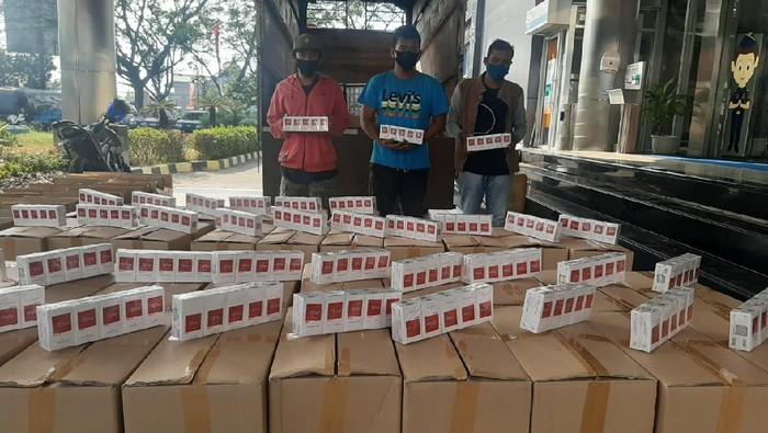 Barang bukti rokok ilegal yang diamankan Bea Cukai Jateng-DIY, Rabu (12/8/2020).