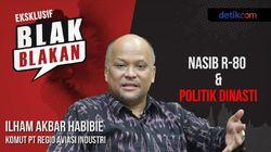 Ilham Habibie Blak-blakan Politik Dinasti dan Nasib R-80